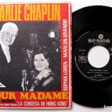 Discos de vinilo: AL KORVIN (CHARLIE CHAPLIN / SOPHIA LOREN) - THIS IS MY SONG - SINGLE SESION 1967 BPY. Lote 183406161