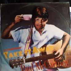 Discos de vinilo: PAUL MCCARTNEY-TAKE IT AWAY. Lote 183406385