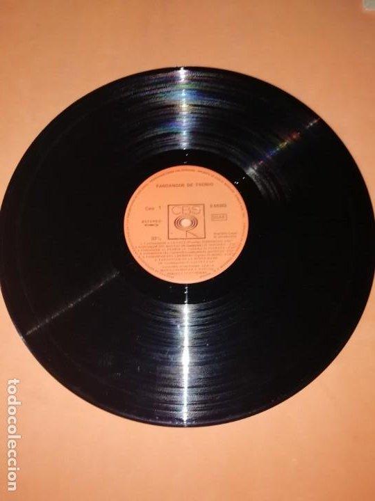 Discos de vinilo: LP DE VINILO DE FANDANGOS DE TRONIO MUY BUEN ESTADO . ESPECIAL COLECCIONISTAS. CBS 1970 - Foto 6 - 183407571