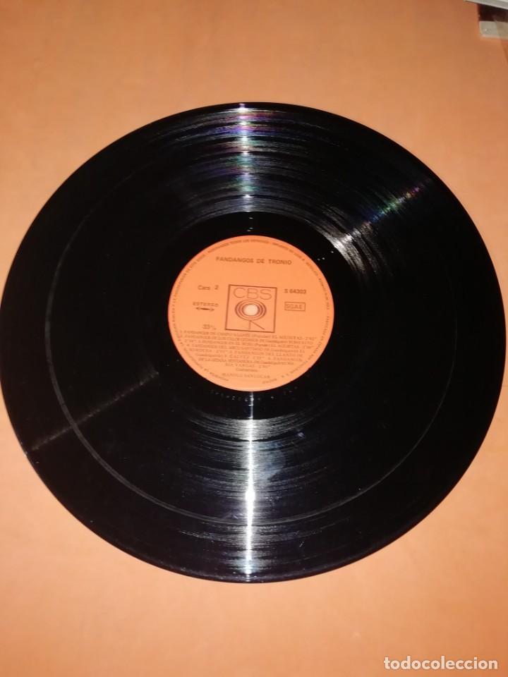 Discos de vinilo: LP DE VINILO DE FANDANGOS DE TRONIO MUY BUEN ESTADO . ESPECIAL COLECCIONISTAS. CBS 1970 - Foto 7 - 183407571