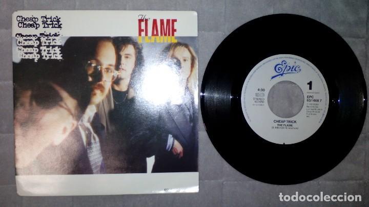 CHEAP TRICK - THE FLAME (Música - Discos - Singles Vinilo - Otros estilos)