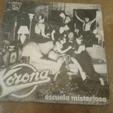 Discos de vinilo: KORONA–ESCUELA MISTERIOSA. SINGLE VINILO 1980.. Lote 183408663
