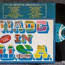 Discos de vinilo: MADE IN U.S.A - 16 GRANDES ARTISTAS.. Lote 183409335
