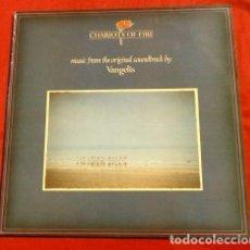 Discos de vinilo: CHARIOTS OF FIRE (DISCO LP 1981 BSO) BANDA SONORA ORIGINAL DEL FILM CARROS DE FUEGO -VANGELIS MÚSICA. Lote 183409536