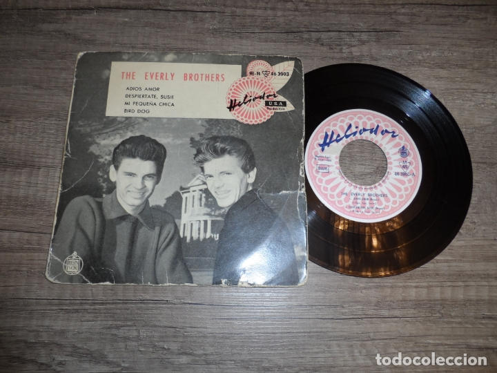 Discos de vinilo: THE EVERLY BROTHERS - ADIOS AMOR + 3 - Foto 1 - 183409942