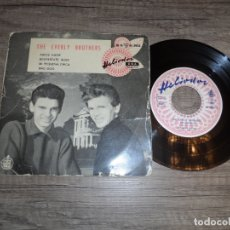 Discos de vinilo: THE EVERLY BROTHERS - ADIOS AMOR + 3. Lote 183409942