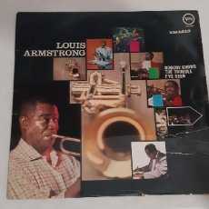 Discos de vinilo: THE VERY BEST OF LOUIS ARMSTRONG. VERVE RECORDS. V 8595.. Lote 183411112