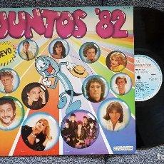 Discos de vinilo: JUNTOS´82 GRANDES ÉXITOS 1982 EDITADOS POR HISPAVOX.. Lote 183413837