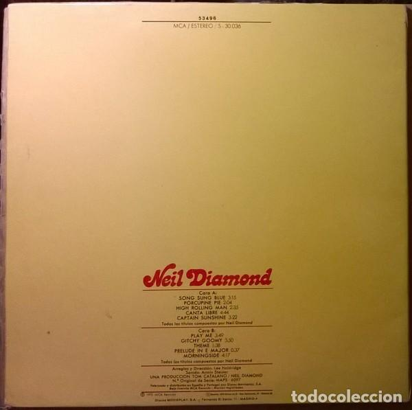 Discos de vinilo: LP Neil Diamond – Moods - Foto 2 - 183413962