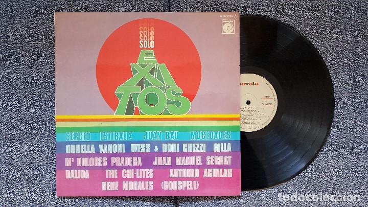 SOLO ÉXITOS. EDITADO POR ZAFIRO AÑO 1975 (Música - Discos - LP Vinilo - Solistas Españoles de los 70 a la actualidad)