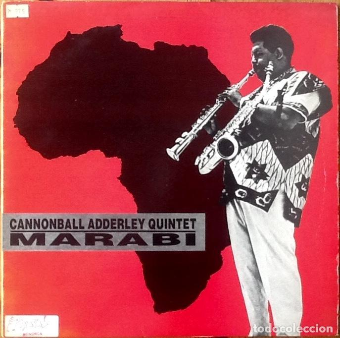CANNONBALL ADDERLEY : MARABI [UK 1986] 12' (Música - Discos de Vinilo - Maxi Singles - Jazz, Jazz-Rock, Blues y R&B)