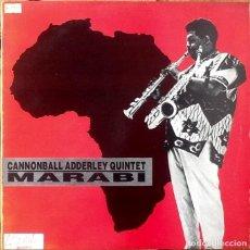 Discos de vinilo: CANNONBALL ADDERLEY : MARABI [UK 1986] 12'. Lote 183415591