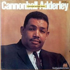 Discos de vinilo: CANNONBALL ADDERLEY : CANNONBALL AND EIGHT GIANTS [ESP 1974] LPX2. Lote 183416312