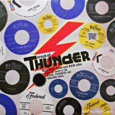 Discos de vinilo: VARIOS - CRASH OF THUNDER. BOSS SOUL, FUNK AND R&R SIDES... (2LP VAMPI 153) NUEVO Y PRECINTADO. Lote 47371657