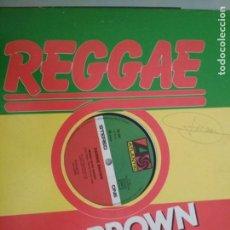 Discos de vinilo: DENNIS BROWN MONEY IN MY POCKET MAXI VINILO 1979. Lote 183418233