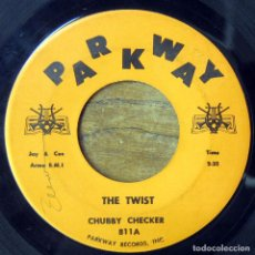 Discos de vinilo: CHUBBY CHECKER - THE TWIST / TOOT - 1960. Lote 183420366