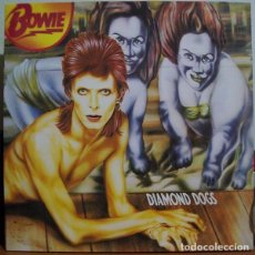 Discos de vinilo: LP DAVID BOWIE - DIAMOND DOGS REMASTER GATEFOLD BONUS 1990. Lote 183421188