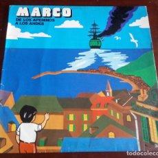 Discos de vinilo: MARCOS - DE LOS APENINOS A LOS ANDES - LP. Lote 183423128