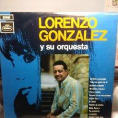Discos de vinilo: LP LORENZO GONZALEZ Y SU ORQUESTA (CARIÑITO AZUCARADO, ALMA LLANERA, SABRA DIOS, ETC ). Lote 183424957