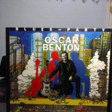 Discos de vinilo: LP OSCAR BENTON : BLUES PARTY ( TEMAS DE W.C.HANDY, BIG BILL BROONZY, OSCAR BENTON, ETC ). Lote 183425706