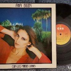 Discos de vinilo: ANA BELÉN - CON LAS MANOS LLENAS. EDITADO POR CBS AÑO 1980. Lote 183426077