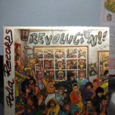 Discos de vinilo: LP LA POLLA RECORDS : REVOLUCION ! ( EDICION ORIGINAL 1985, OIHUKA ). Lote 183426845