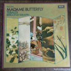 Discos de vinilo: ÁLBUM MADAME BATTERFLY . Lote 183427713