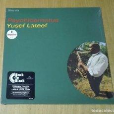 Discos de vinilo: YUSEF LATEEF - PSYCHICEMOTUS (LP 2015, BACK TO BLACK, GATEFOLD) NUEVO Y PRECINTADO. Lote 183429361