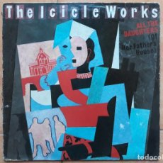 Discos de vinilo: THE ICICLE WORKS- ALL THE DAUGHTERS- MAXI SINGLE 1985 ENGLAND UK. Lote 183429673