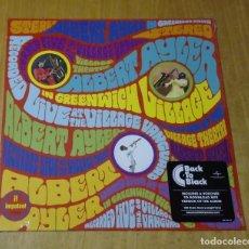 Discos de vinilo: ALBERT AYLER - IN GREENWICH VILLAGE (LP 2015, BACK TO BLACK, GATEFOLD) NUEVO Y PRECINTADO. Lote 183429973