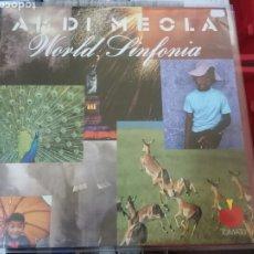 Discos de vinilo: 2 LP AL DI MEOLA - WORLD SINFONIA. Lote 183430215