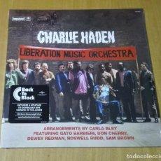 Discos de vinilo: CHARLIE HADEN - LIBERATION MUSIC ORCHESTRA (LP 2015, BACK TO BLACK, GATEFOLD) NUEVO Y PRECINTADO. Lote 183430872