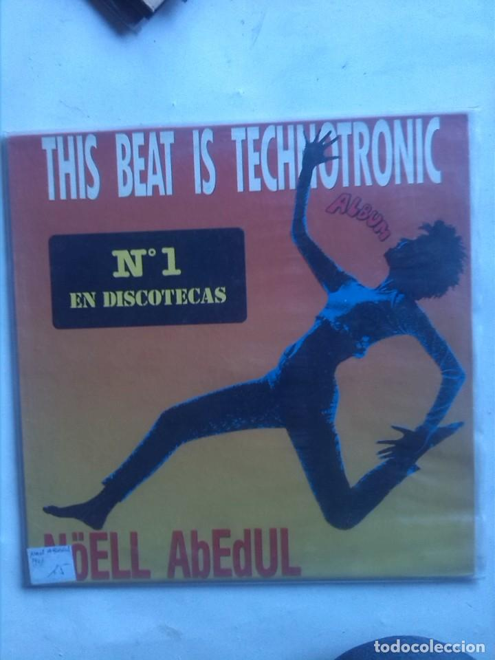 NOELL ABEDUL THIS BEAT IS TECHNOTRONIC (Música - Discos - LP Vinilo - Techno, Trance y House)
