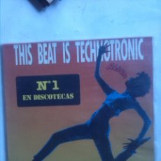 Discos de vinilo: NOELL ABEDUL THIS BEAT IS TECHNOTRONIC. Lote 183431036