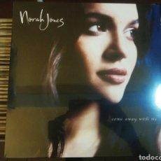 Discos de vinilo: LP NORAH JONES - COME AWAY WITH ME - NUEVO Y PRECINTADO.. Lote 183431345