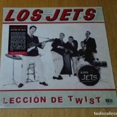 Discos de vinilo: LOS JETS - LECCIÓN DE TWIST (LP + CD 2018, MR 384) NUEVO Y PRECINTADO. Lote 195406580