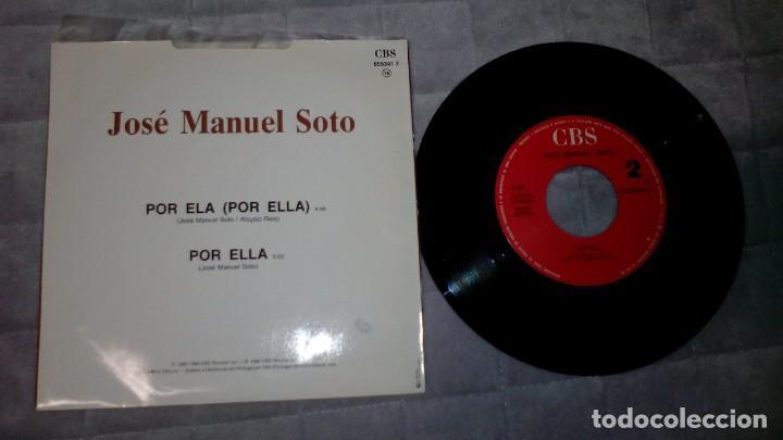 Discos de vinilo: Jose Manuel Soto - Por Ela - Foto 2 - 183434197