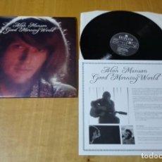 Discos de vinilo: ALAN MUNSON - GOOD MORNING WORLD (LP 2007, GUERSSEN GUESS041, CON ENCARTE) NUEVO . Lote 183434618
