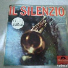 Discos de vinilo: IL SILENZIO CUANDO VIENE LA PRIMAVERA. Lote 183434731