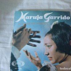 Discos de vinilo: MARUJA GARRIDO EXTRAÑOS EN LA NOCHE. Lote 183435308