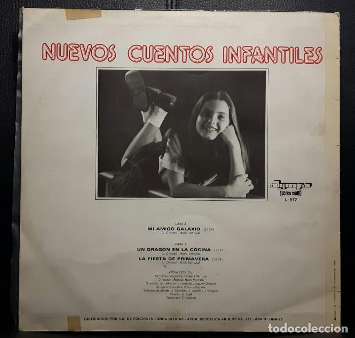 Discos de vinilo: NUEVOS CUENTOS INFANTILES - LP - ESPAÑA - 1978 - YOLANDA VENTURA - PARCHIS - RARISIMO - INFANTIL - Foto 2 - 183435763
