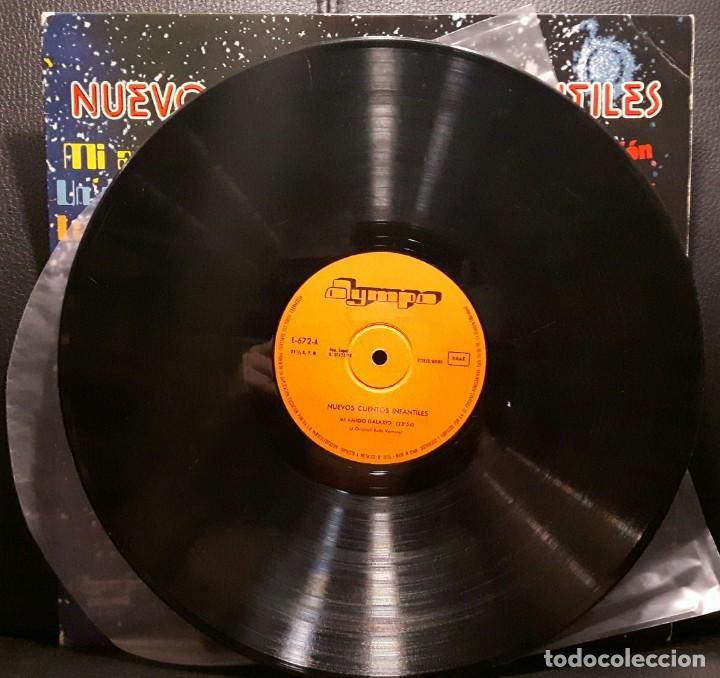 Discos de vinilo: NUEVOS CUENTOS INFANTILES - LP - ESPAÑA - 1978 - YOLANDA VENTURA - PARCHIS - RARISIMO - INFANTIL - Foto 3 - 183435763
