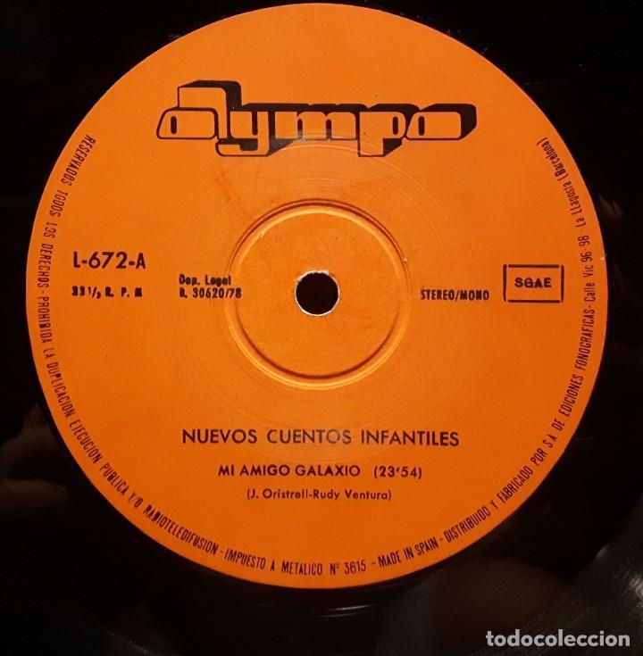 Discos de vinilo: NUEVOS CUENTOS INFANTILES - LP - ESPAÑA - 1978 - YOLANDA VENTURA - PARCHIS - RARISIMO - INFANTIL - Foto 4 - 183435763