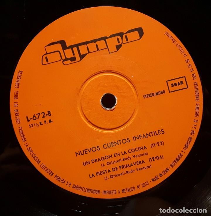 Discos de vinilo: NUEVOS CUENTOS INFANTILES - LP - ESPAÑA - 1978 - YOLANDA VENTURA - PARCHIS - RARISIMO - INFANTIL - Foto 5 - 183435763