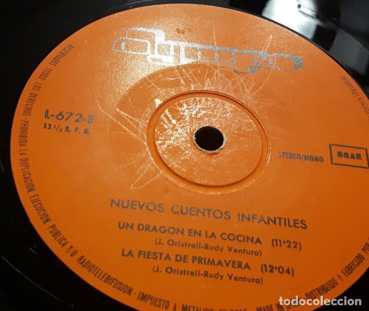 Discos de vinilo: NUEVOS CUENTOS INFANTILES - LP - ESPAÑA - 1978 - YOLANDA VENTURA - PARCHIS - RARISIMO - INFANTIL - Foto 12 - 183435763