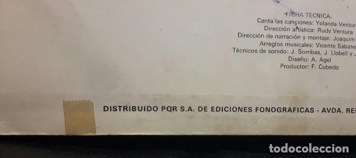 Discos de vinilo: NUEVOS CUENTOS INFANTILES - LP - ESPAÑA - 1978 - YOLANDA VENTURA - PARCHIS - RARISIMO - INFANTIL - Foto 16 - 183435763