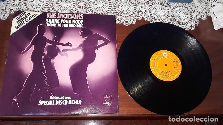 MICHAEL JACKSON AND THE JACKSON- SHAKE YOUR BODY..... MAXI SINGLE DE UK-ORIGINAL 1979 (Música - Discos - Singles Vinilo - Pop - Rock Extranjero de los 90 a la actualidad)