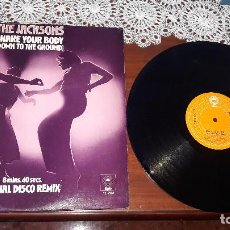 Discos de vinilo: MICHAEL JACKSON AND THE JACKSON- SHAKE YOUR BODY..... MAXI SINGLE DE UK-ORIGINAL 1979. Lote 183438178