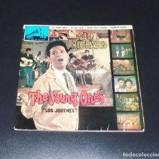 Discos de vinilo: CLIFF RICHARD --THE YOUNG ONES---- ORIGINAL DEL AÑO 1962---- ( VINILO / FUNDA VG+ ). Lote 183454860