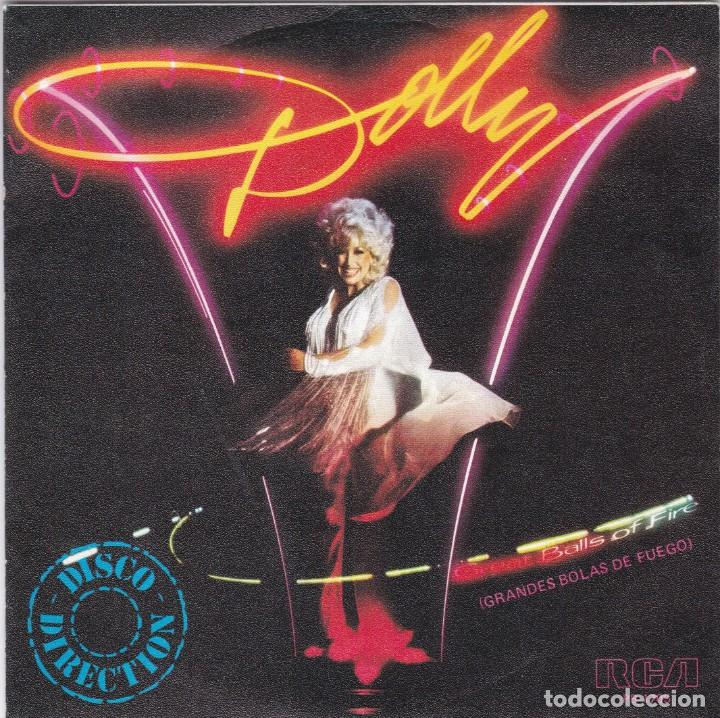 DOLLY PARTON,GREAT BALLS OF FIRE PROMO DEL 79 (Música - Discos - Singles Vinilo - Country y Folk)